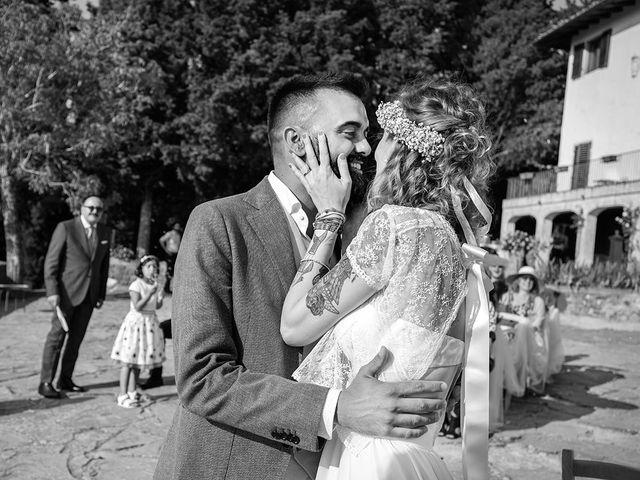 Il matrimonio di Simone e Annalisa a Pelago, Firenze 33