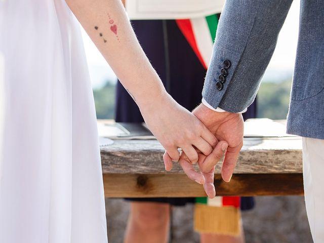 Il matrimonio di Simone e Annalisa a Pelago, Firenze 34