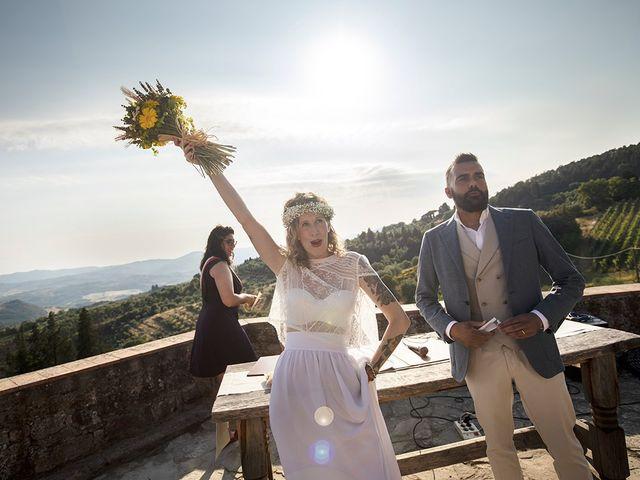 Il matrimonio di Simone e Annalisa a Pelago, Firenze 41
