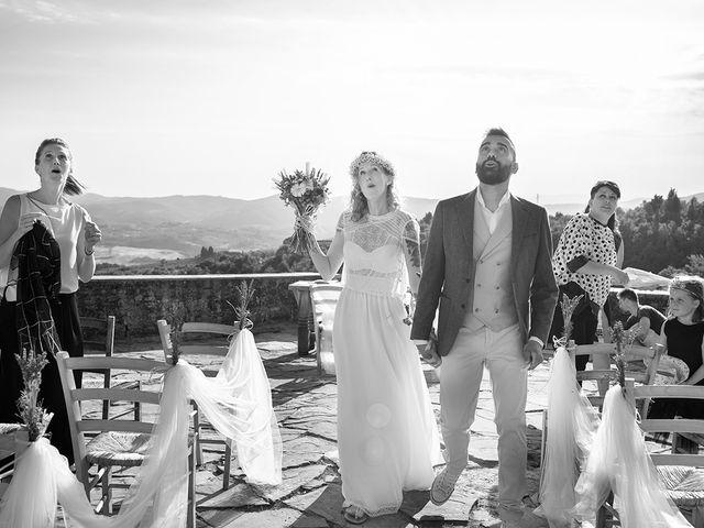 Il matrimonio di Simone e Annalisa a Pelago, Firenze 42