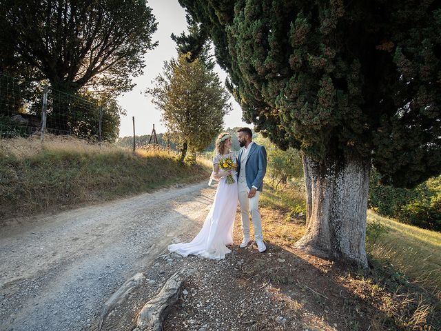 Il matrimonio di Simone e Annalisa a Pelago, Firenze 51