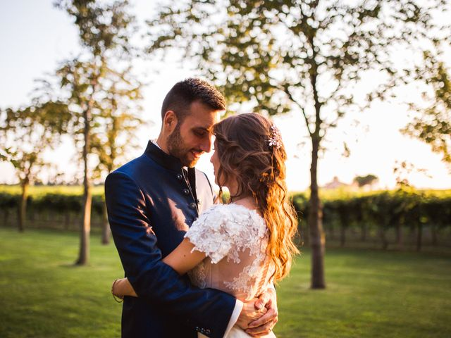 Le nozze di Evelyn e Simone