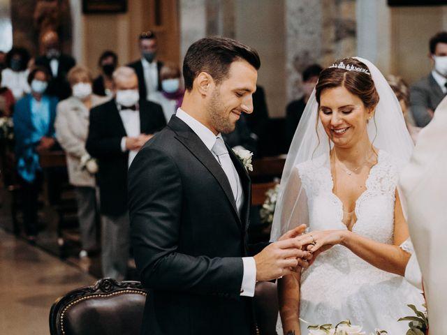 Il matrimonio di Leonardo e Alessandra a Lecco, Lecco 33
