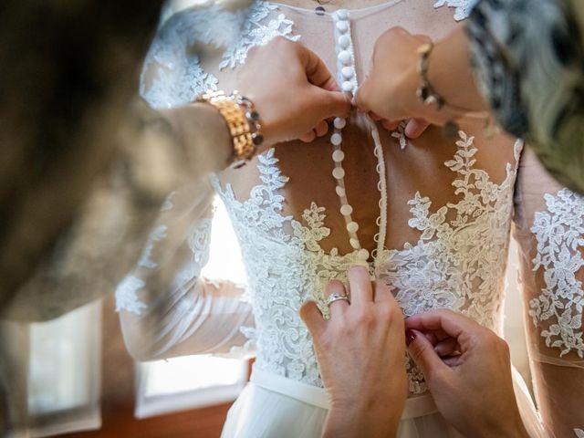 Il matrimonio di Alessandro e Alessandra a Brunello, Varese 11