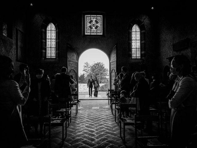 Il matrimonio di Alessandro e Alessandra a Brunello, Varese 13