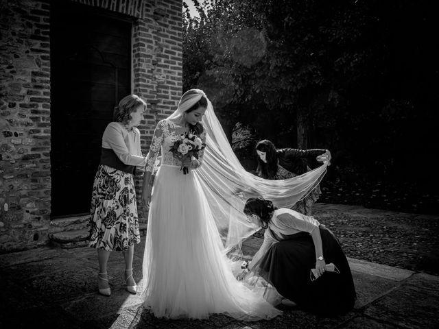 Il matrimonio di Alessandro e Alessandra a Brunello, Varese 15