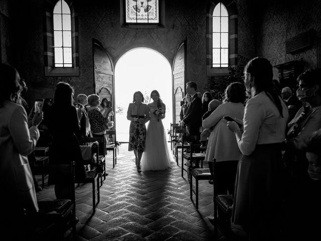 Il matrimonio di Alessandro e Alessandra a Brunello, Varese 16