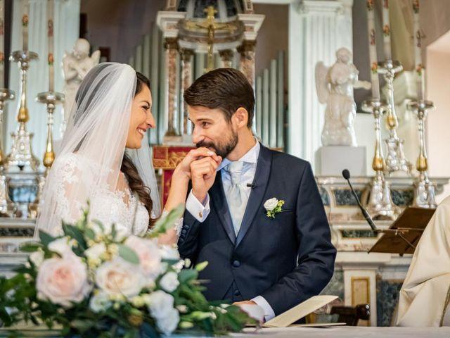 Il matrimonio di Alessandro e Alessandra a Brunello, Varese 17