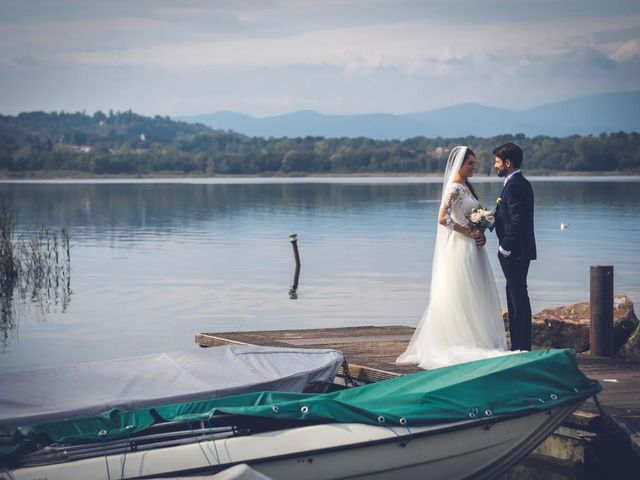 Il matrimonio di Alessandro e Alessandra a Brunello, Varese 23