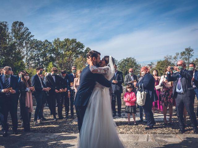 Il matrimonio di Alessandro e Alessandra a Brunello, Varese 27