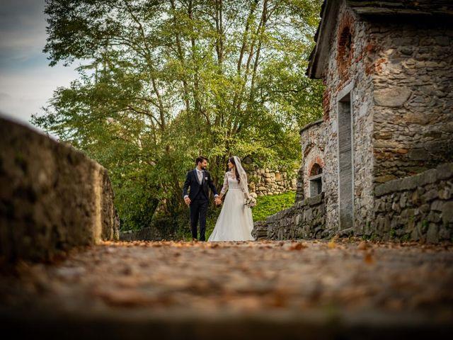 Il matrimonio di Alessandro e Alessandra a Brunello, Varese 30