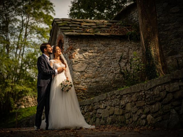 Il matrimonio di Alessandro e Alessandra a Brunello, Varese 31