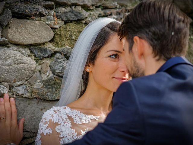 Il matrimonio di Alessandro e Alessandra a Brunello, Varese 32