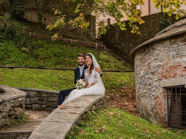 Il matrimonio di Alessandro e Alessandra a Brunello, Varese 34