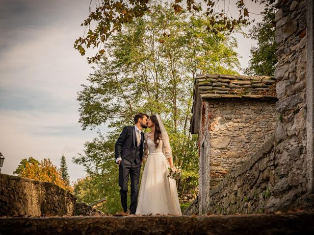 Il matrimonio di Alessandro e Alessandra a Brunello, Varese 35
