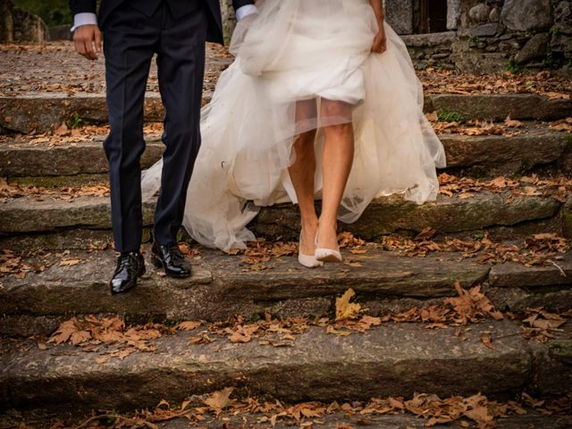Il matrimonio di Alessandro e Alessandra a Brunello, Varese 38