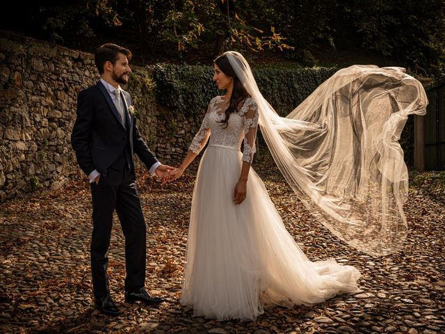 Il matrimonio di Alessandro e Alessandra a Brunello, Varese 39