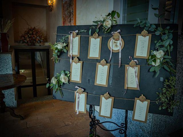 Il matrimonio di Alessandro e Alessandra a Brunello, Varese 42