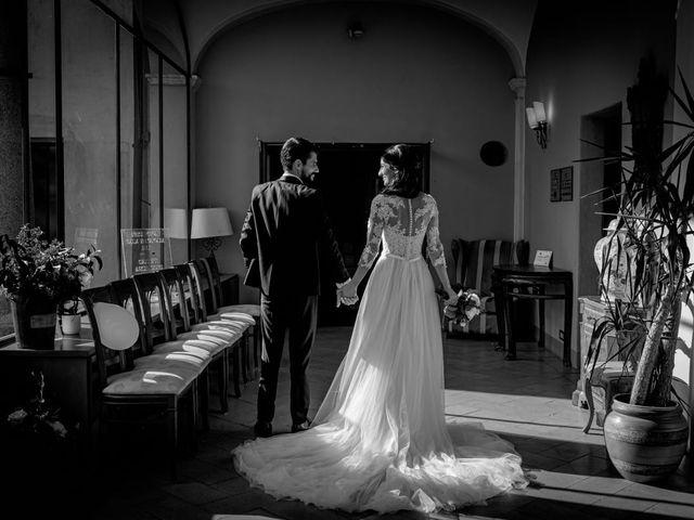 Il matrimonio di Alessandro e Alessandra a Brunello, Varese 43