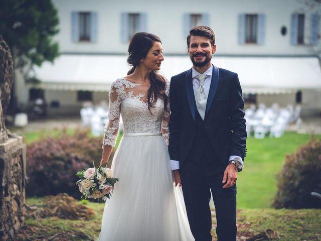 Il matrimonio di Alessandro e Alessandra a Brunello, Varese 48