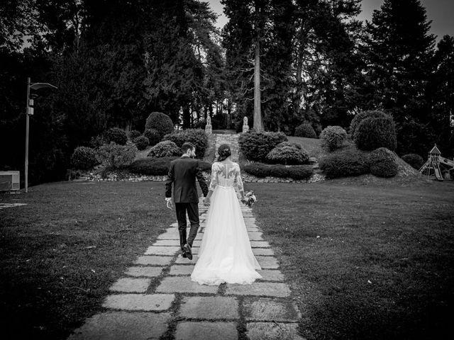Il matrimonio di Alessandro e Alessandra a Brunello, Varese 52