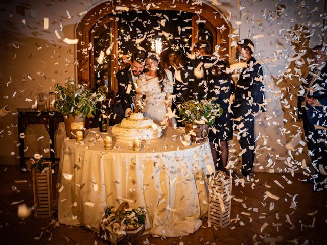 Il matrimonio di Alessandro e Alessandra a Brunello, Varese 69