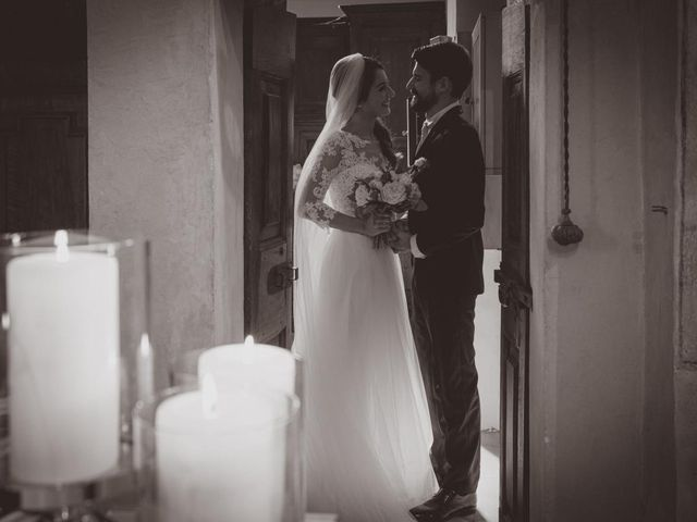 Il matrimonio di Alessandro e Alessandra a Brunello, Varese 72