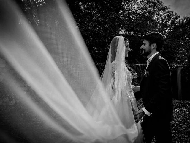 Il matrimonio di Alessandro e Alessandra a Brunello, Varese 75