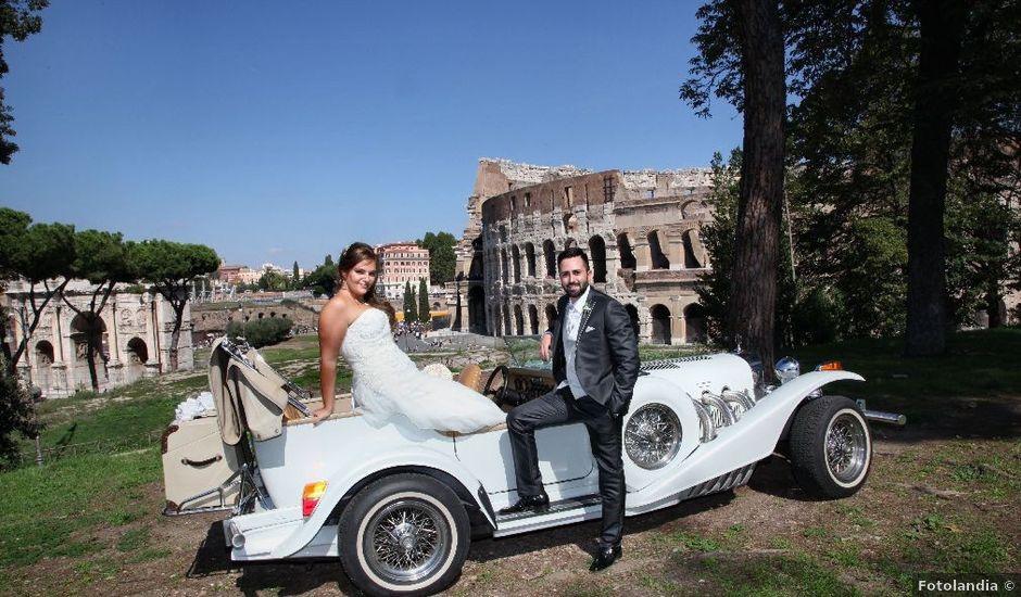 Il matrimonio di Marco e Veronica a Roma, Roma