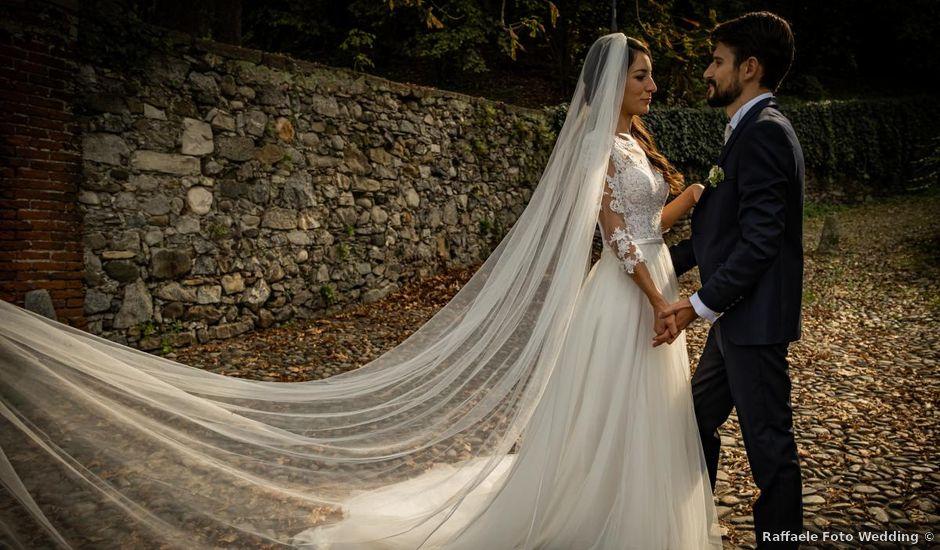 Il matrimonio di Alessandro e Alessandra a Brunello, Varese