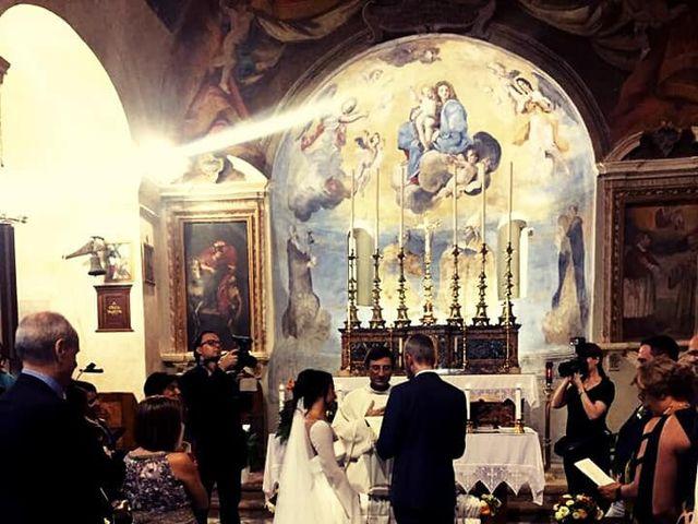 Il matrimonio di Massimo e Angelica a Ceri, Roma 2