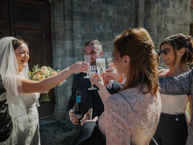 Il matrimonio di Dumitru e Iuliana a Chiusdino, Siena 37