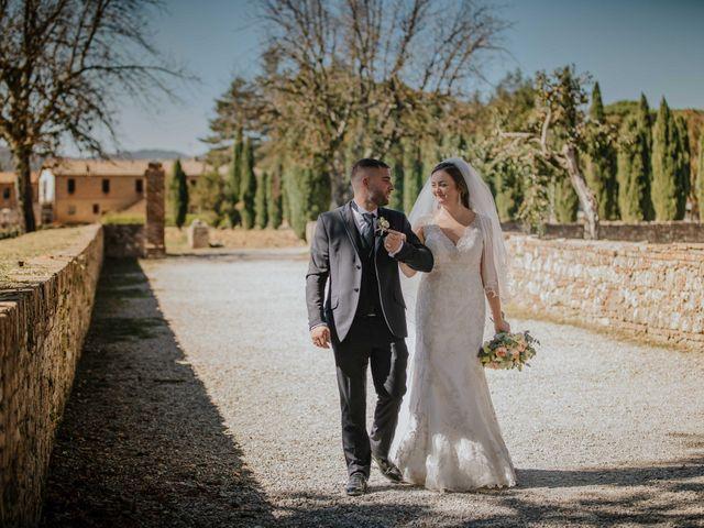 Il matrimonio di Dumitru e Iuliana a Chiusdino, Siena 39