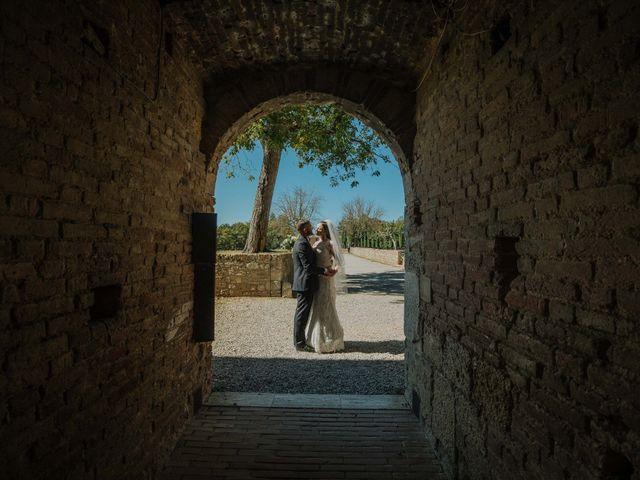 Il matrimonio di Dumitru e Iuliana a Chiusdino, Siena 40