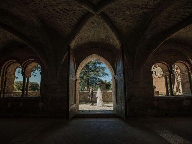 Il matrimonio di Dumitru e Iuliana a Chiusdino, Siena 42