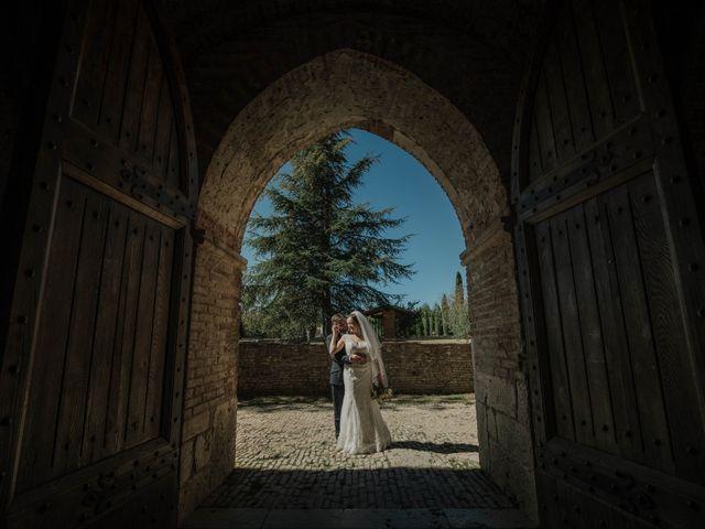 Il matrimonio di Dumitru e Iuliana a Chiusdino, Siena 43