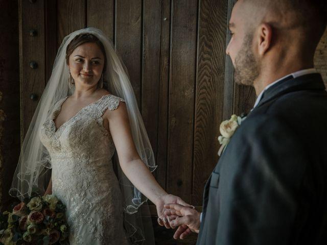 Il matrimonio di Dumitru e Iuliana a Chiusdino, Siena 45