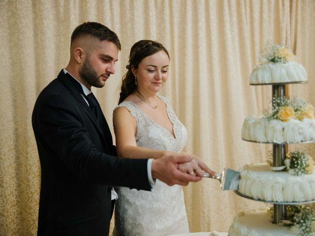 Il matrimonio di Dumitru e Iuliana a Chiusdino, Siena 64