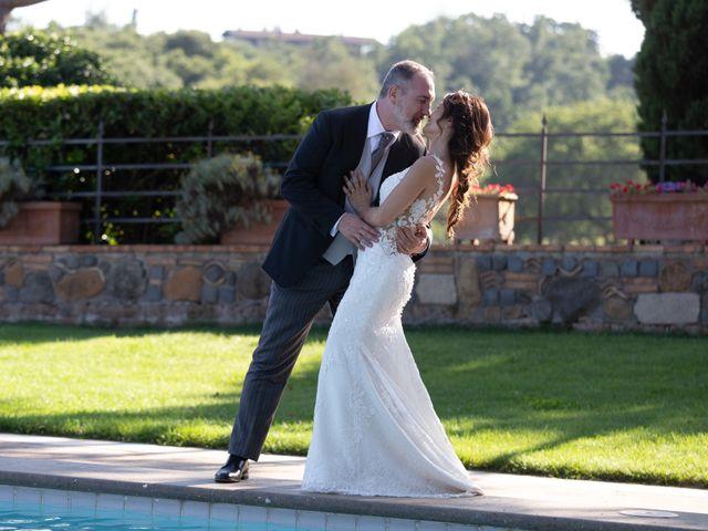 Il matrimonio di Emilio e Lucilla a Nepi, Viterbo 1