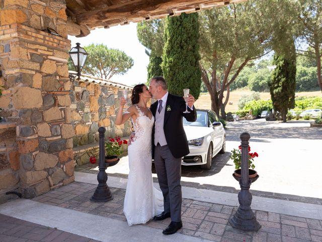 Il matrimonio di Emilio e Lucilla a Nepi, Viterbo 2