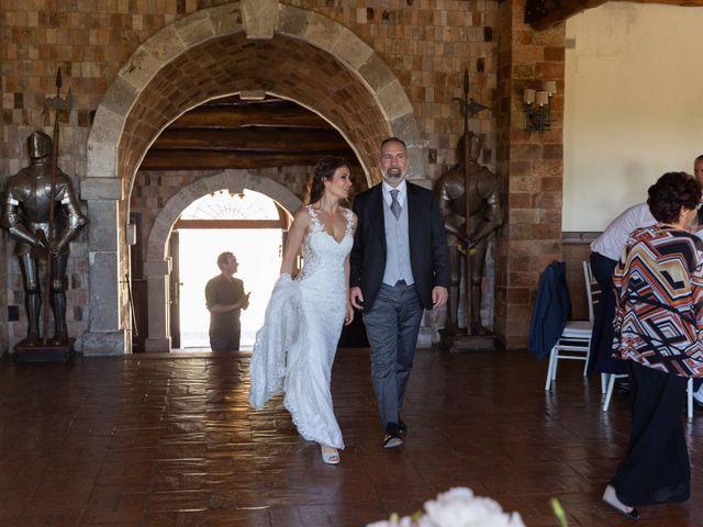 Il matrimonio di Emilio e Lucilla a Nepi, Viterbo 5
