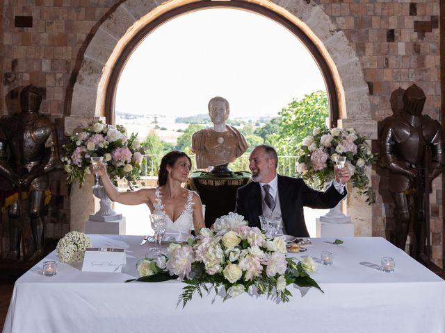 Il matrimonio di Emilio e Lucilla a Nepi, Viterbo 6