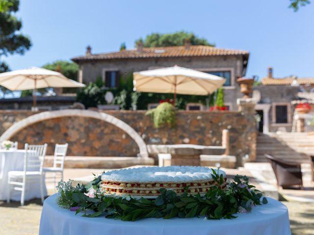 Il matrimonio di Emilio e Lucilla a Nepi, Viterbo 8