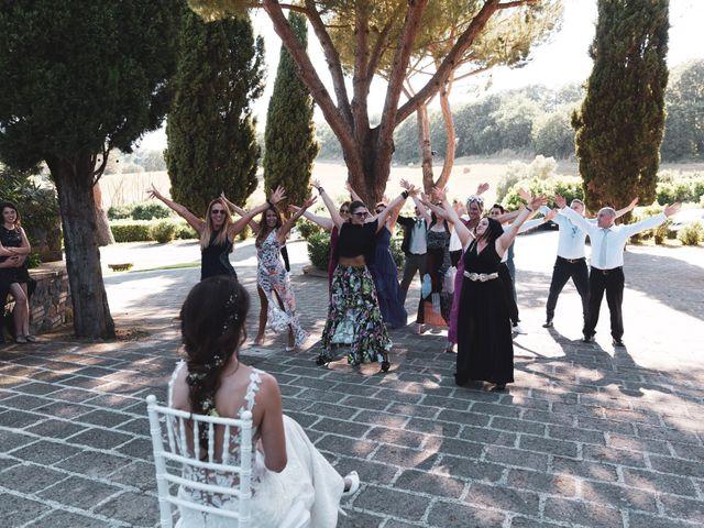 Il matrimonio di Emilio e Lucilla a Nepi, Viterbo 11