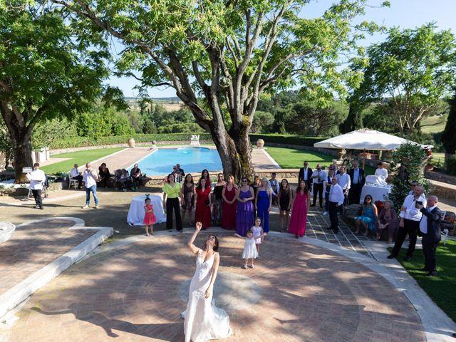Il matrimonio di Emilio e Lucilla a Nepi, Viterbo 13