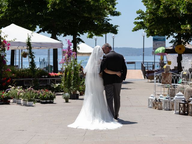 Il matrimonio di Emilio e Lucilla a Nepi, Viterbo 16