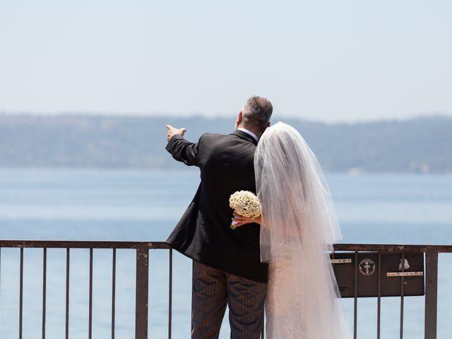 Il matrimonio di Emilio e Lucilla a Nepi, Viterbo 17