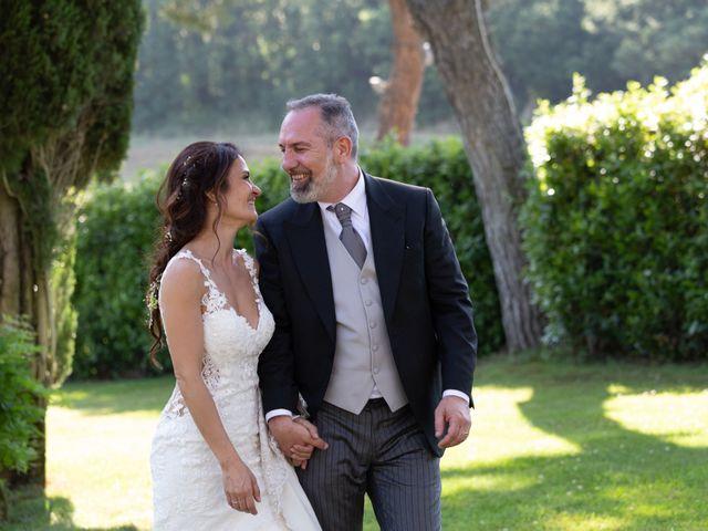 Il matrimonio di Emilio e Lucilla a Nepi, Viterbo 24