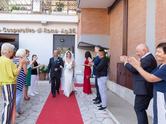 Il matrimonio di Emilio e Lucilla a Nepi, Viterbo 37