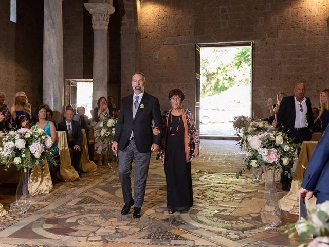 Il matrimonio di Emilio e Lucilla a Nepi, Viterbo 39